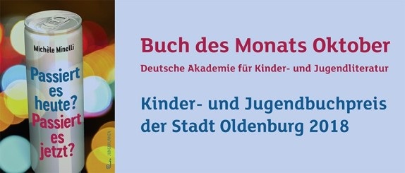 Oldenburger Kinder und Jugendbuchpreis 2018